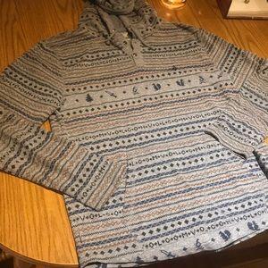 Volcom light weight hoodie size L